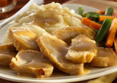 Medallions of Turkey Breast
