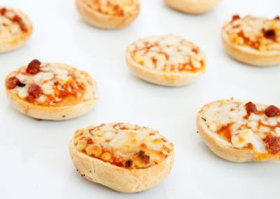 Mini Pizza Bagel Bites
