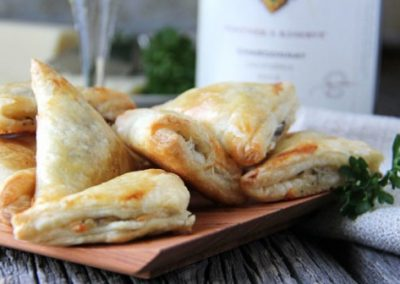Mini Smoked Salmon Turnovers