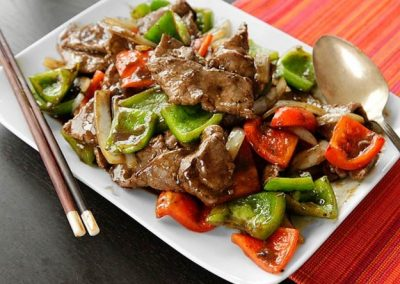 Peppered Steak