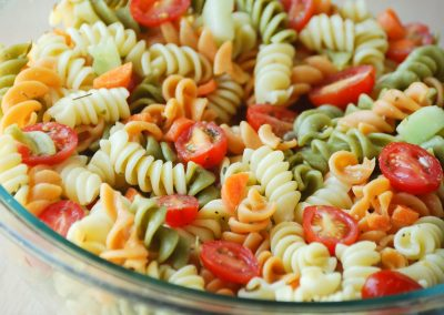 Tri- Colored Pasta Salad