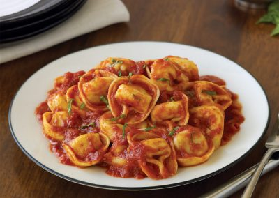 Tortellini with Marinara or Alfredo Sauce