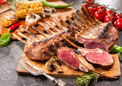 Rack of Lamb - Carving Station